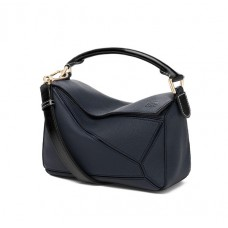 Loewe Small Puzzle Bag In Soft Grained Calfskin