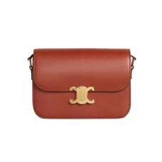 Celine Triomphe Medium Calf Leather Handbag