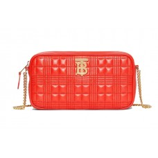Burberry Quilted Lambskin Camera Bag