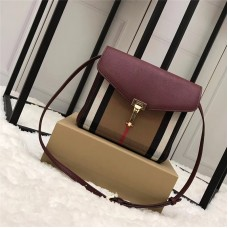 Burberry Small Vintage Check And Leather Crossbody Bag 40800791