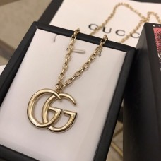 Gold Necklace with Double G