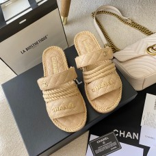 Chanel Dad Sandals leather mules