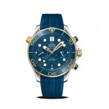 Seamaster Diver 300M Omega Co-Axial Master Chronometer Chronograph 44 Mm
