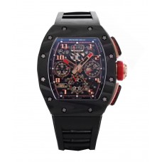 Richard Mille Rm 011 Automatic Flyback Chronograph Ntpt Lotus F1 Team Romain Grosjean In Rose Gold
