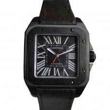 Cartier Santos 100 Carbon Watch Wssa0006
