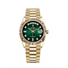 Rolex Oyster Perpetual Day-Date 36 In 18 Ct Yellow Gold