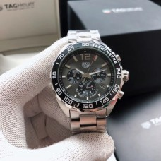 Tag Heuer Formula 1 Watch Grey Dial 43Mm